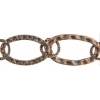 Chain Oval 31x19mm Antique Copper